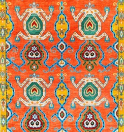 Ikat Collection- Rust Ikat