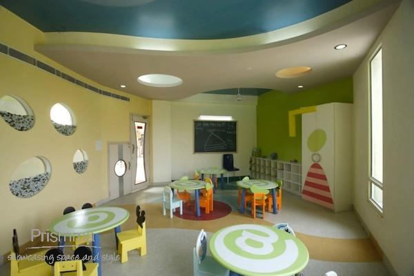 Playschool interior design: Adarshila Vatika by Spaces ...