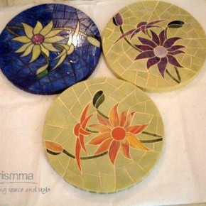 Stained Glass Coasters Sonia64