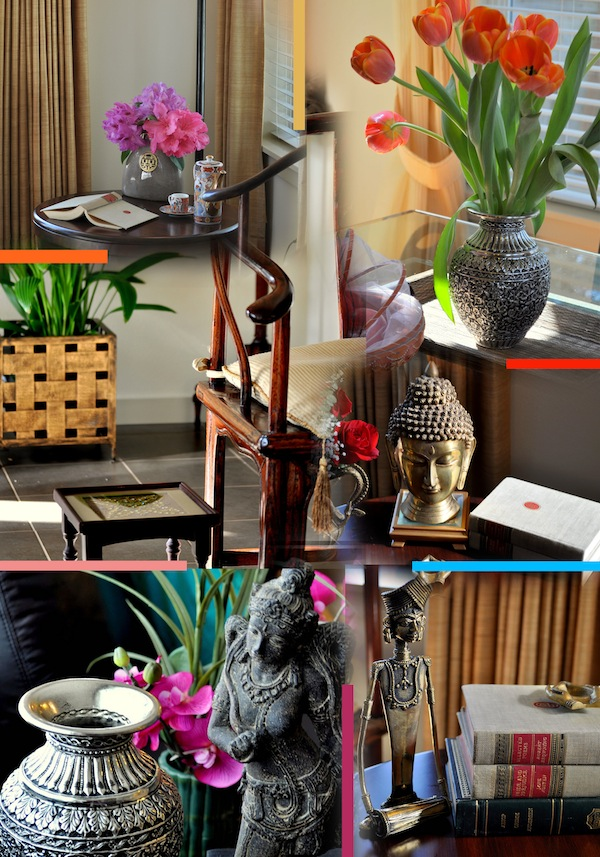 Flowers in interior decorating.Home decorating India. My Dream ...