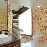 Options for bathroom floors – interesting and unusual designs