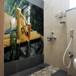 Different types of showers in bathroom design