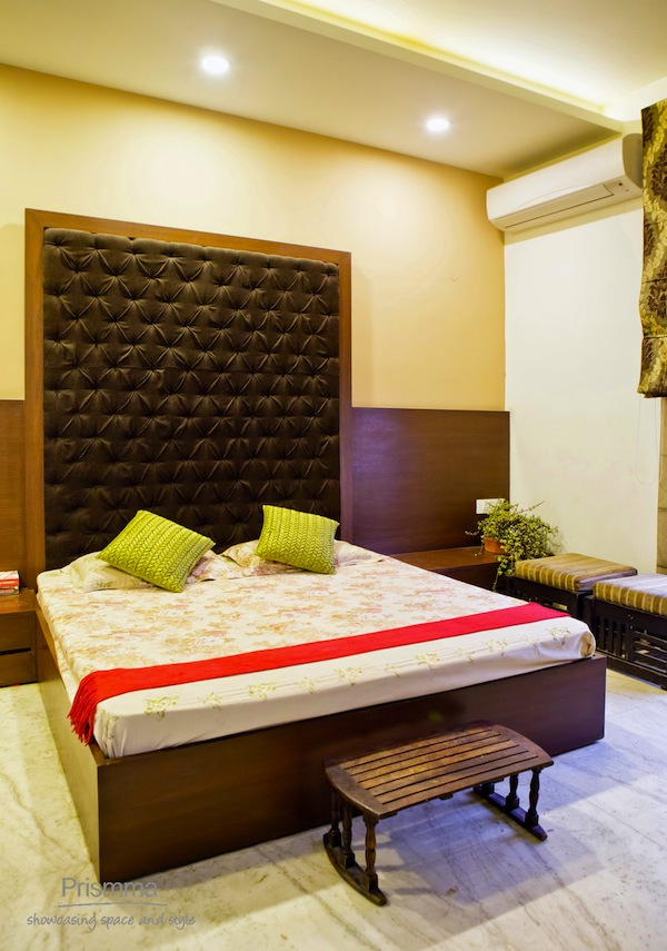 Indian bed designs with headboard for Bed design photos