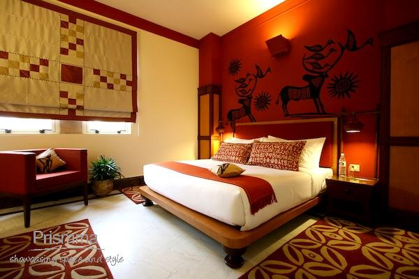 The indravan hotel in delhi by sahil and sarthak interior for Bedroom designs delhi