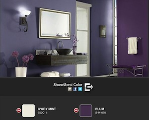 Colorsmart By BEHR Process Corporation Is An App That Allows You To  Visualise How A Particular Colour Would Look On Walls, Ceiling Etc.