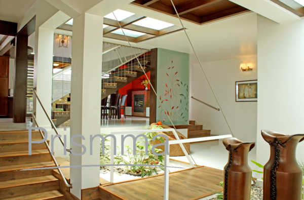 Image gallery indoor indian architecture for Courtyard house designs india