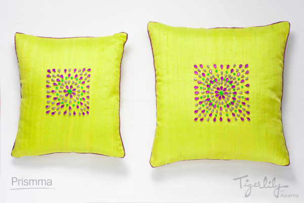 cushion cover design TIGERLILY10