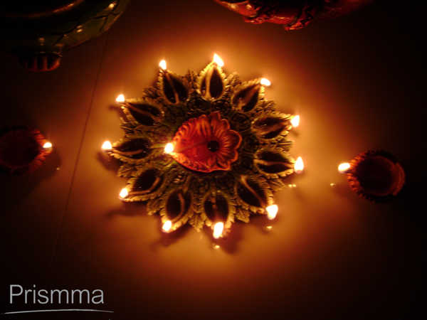 Diwali Decoration Vandana Choudhury Interior Design Travel Heritage Online Magazine