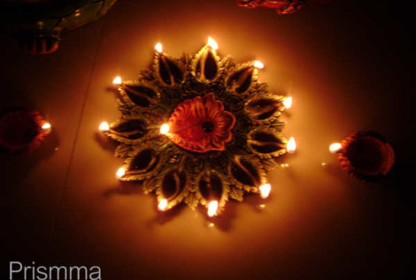 diwali decor VANDANA5