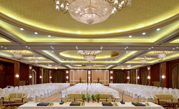 Indana palace hotel jodhpur rajasthani architecture for Banquet hall designs layout