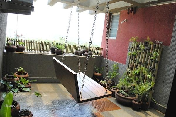 Balconies india design ideas interior design travel heritage online magazine - Balcony design for small spaces pict ...