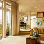 Frame that window: Curtain design and window treatments