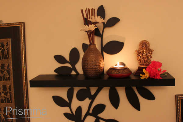 Suchitra narayanan diwali decoration interior design for Simple diwali home decorations