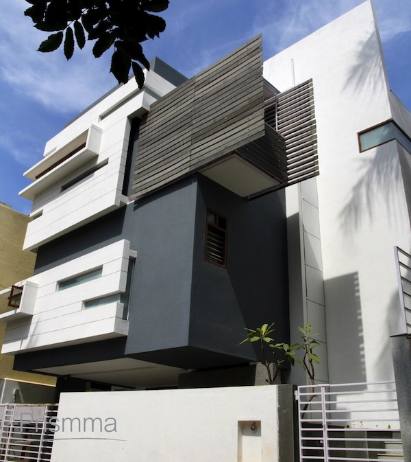 Bangalore architect cadence the kantilal residence for Aslam architects interior designs bangalore