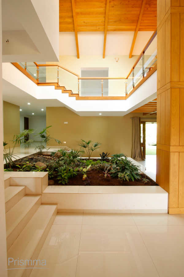Courtyard concept in indian architecture interior design for Architecture design for home in pune