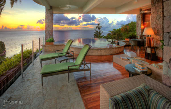 captivating tropical touches living room | Captivating Caribbean Resort-Jade Mountain-Saint Lucia ...