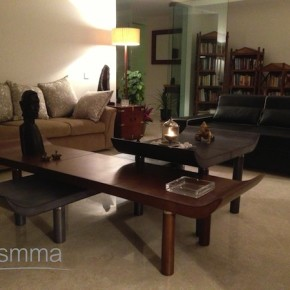 leather coffee table portside home