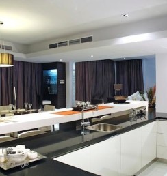 open plan kitchen and dining room assotech2
