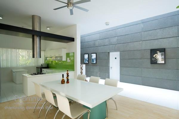 open plan kitchen and dining space Sunil Patil 55