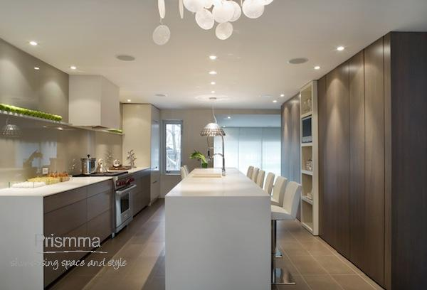 open plan kitchen and dining space design Cecconi 15