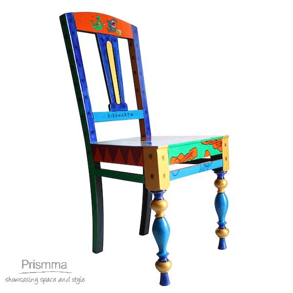 painted chair Aarohi 11