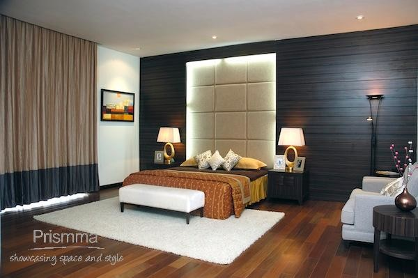 panelled wall and headbord bedroom assotech1
