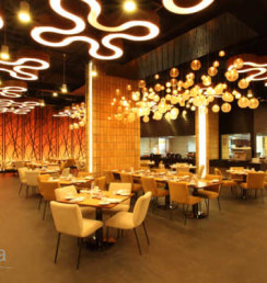 restaurant ceiling design VIVANTA49