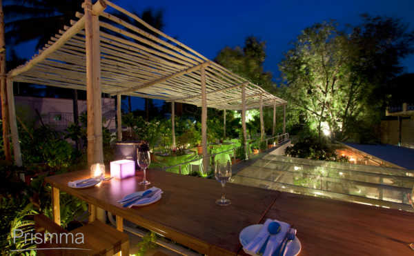 Interior design terrace planning options and ideas for Open terrace restaurants