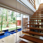 Various types of staircases in modern homes