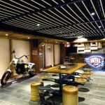 Kolkata Interior Designer: Bikers Cafe by Icon Projects