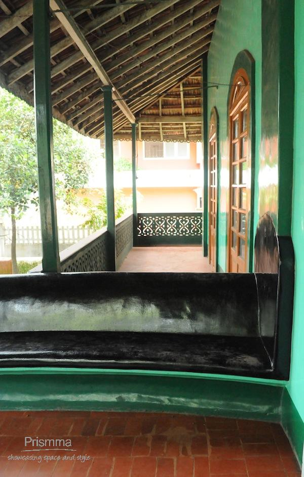traditional goan entrance seating Chandan goa4