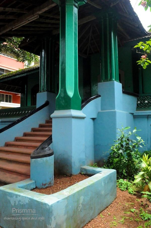 traditional goan entrance steps Chandan goa5