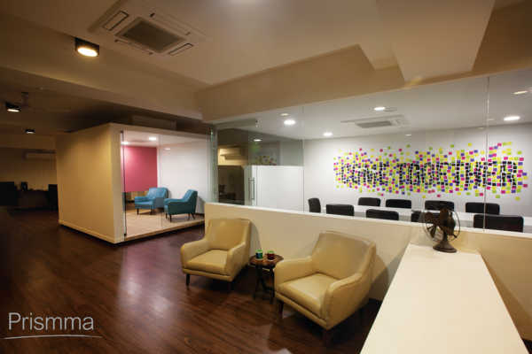 Office Design Bangalore White Canvas By Kamat Rosario