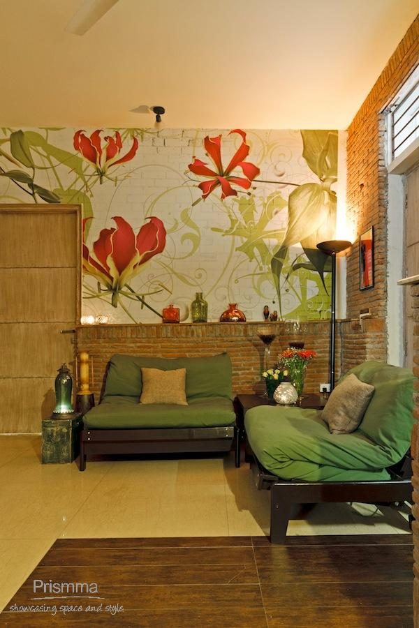 Design My Own Living Room Online Free: Gurgaon Home: Gaurav & Simple Soral Interior Design